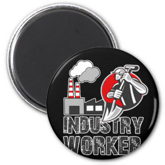 Industry worker magnet