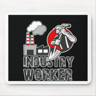 Industry worker mouse pad