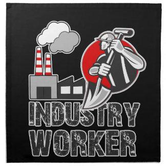 Industry worker napkin