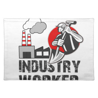 Industry worker placemat