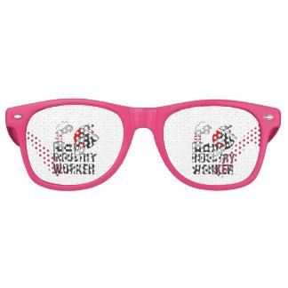 Industry worker retro sunglasses