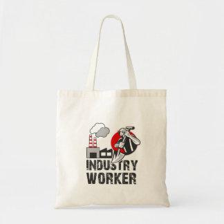 Industry worker tote bag