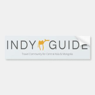 Indy Guide (car/door) sticker Bumper Sticker