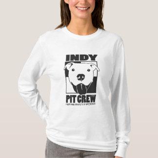 Indy Pit Crew Ladies Logo Hoodie