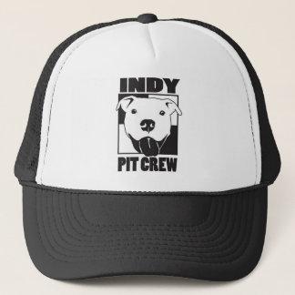 Indy Pit Crew Logo Trucker Hat