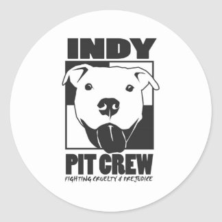 Indy Pit Crew official logo Sticker
