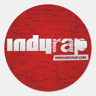 Indy Rap Stickers
