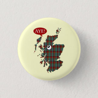 #indyref Aye Scotland Map Vote Yes Button
