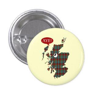#indyref Aye Scotland Map Vote Yes Button