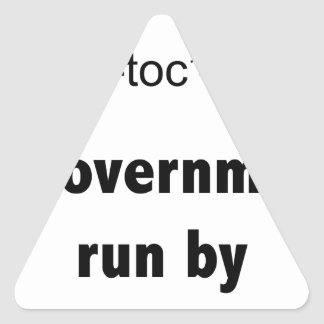Ineptocracy Democrats Triangle Sticker