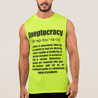 Ineptocracy Sleeveless Shirt