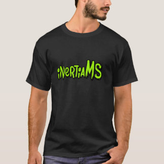 inertiaMS - RUN WALLS Dark Tee