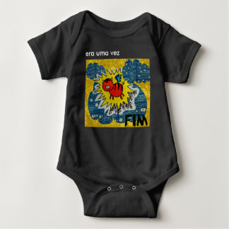 Ines object of andrade baby bodysuit