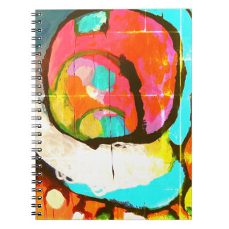 Ines object of andrade spiral notebook