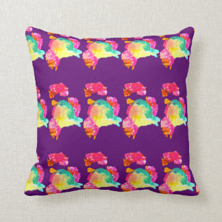 Ines object of andrade throw pillow
