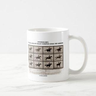 Infamous Bet 4 Legs Sallie Gardner Leave Ground Coffee Mug