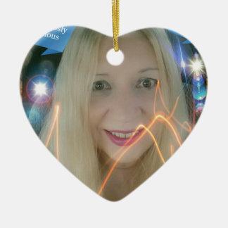 Infamous Lighting Susie Ceramic Heart Decoration