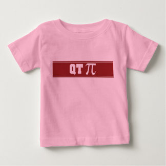 Infant Baby Toddler Cutie Pie QT Pi T-Shirt