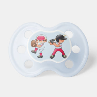 Infant Baseball theme pacifier