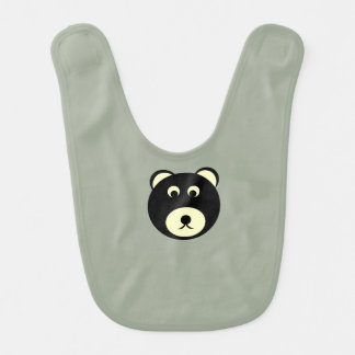 Infant bear bib