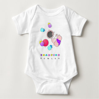 Infant Bowling Baby Bodysuit