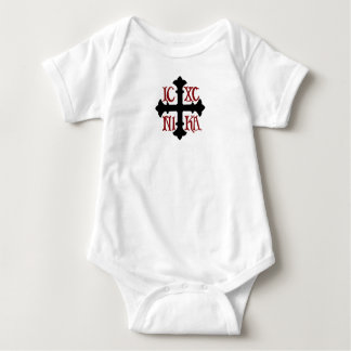 Infant Cotton ICXC NIKA Cross Bodysuit