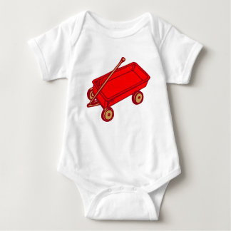 INFANT CREEPER RED WAGON