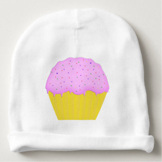 Infant Hat With Cupcake Baby Beanie