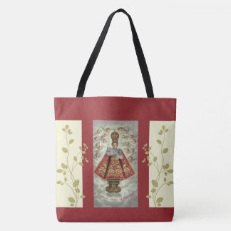 Infant Jesus of Prague Adoring Angels Tote Bag