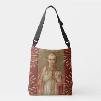 Infant Jesus of Prague Crossbody Bag