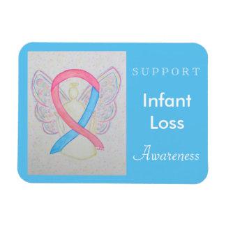 Infant Loss Awareness Ribbon Angel Custom Magnet