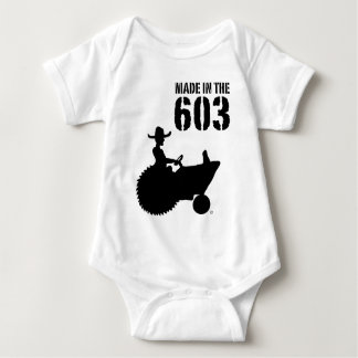 Infant Made in the 603 Baby Bodysuit