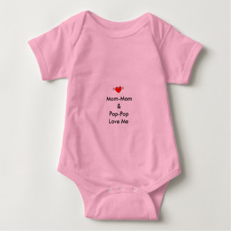 Infant Mom-Mom & Pop-Pop Love Me T-Shirt