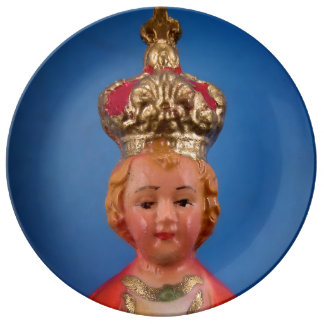 Infant of Prague Plate