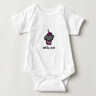 Infant Onsie/Creeper Betty Ace Style Baby Bodysuit