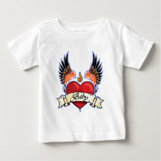 Infant Shirt Winged Heart