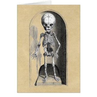 Infant Skeleton front / back Card