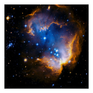 Infant Stars in Nearby Galaxy -2007 Poster