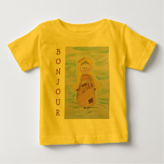 Infant T-Shirt/Bonjour Baby T-Shirt