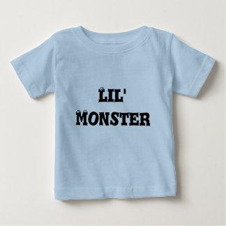 Infant T-Shirt, Light Blue, Lil' Monster Tshirt