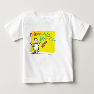 Infant T-Shirt My Daddy Fixes Boo-Boos