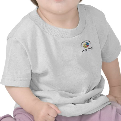 Infant t-shirt - top left logo