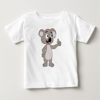 Infant T-Shirt with koala bear cartoon