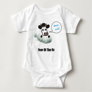 Infant T - Year of the Ox Baby Bodysuit