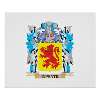 Infante Coat of Arms - Family Crest Posters