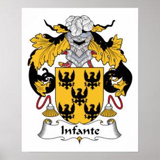 Infante Family Crest Print