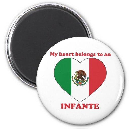 Infante Refrigerator Magnet