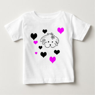 Infantile t-shirt white color of the world of Lua