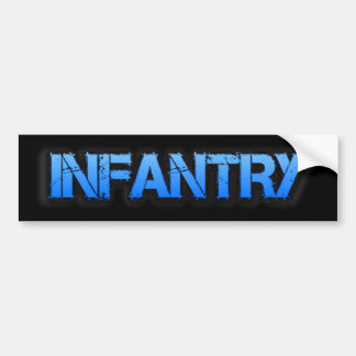 Infantry Bumper Sticker