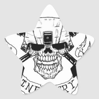 INFANTRY STAR STICKER